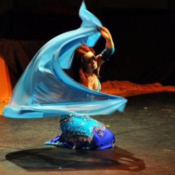 Taniec brzucha Elmas pokazy